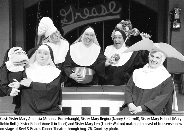 Nunsense with Laurie Walton