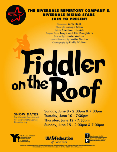 Fiddler on the Roof - RRS and Riverdale Repertory Company