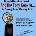 And The Tony Goes To… Opens Tuesday August 29th
