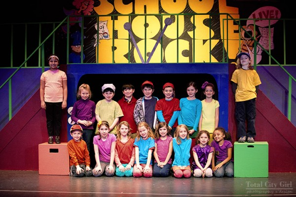 Opening of Schoolhouse RockLIVE! Jr.